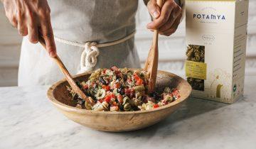 Tonbalıklı Akdeniz Salatası